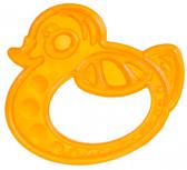 Прорезыватель для зубов Утка оранжевая, Canpol babies, утка от Canpol babies
