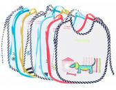 Слюнявчики хлопчато-клеенчатые Неделька - набор 7 шт., Canpol babies от Canpol babies