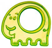 Прорезыватель для зубов Слон зеленый, Canpol babies, слон