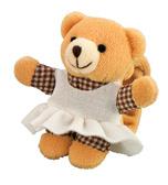 Погремушка на руку Мишка в платье (девочка), Canpol babies, мишка в сарафане от Canpol babies
