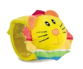 Погремушка на руку Друзья из джунглей Желтый львенок, Canpol babies, желтый львенок от Canpol babies