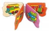 Игрушка-книжка мягкая пищалка Транспорт, Canpol babies от Canpol babies
