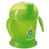 Кружка-непроливайка Улыбка, 200 мл, зеленая, Canpol babies, зеленая от Canpol babies