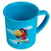 Чашка пластиковая Пираты с попугаем (200 мл) голубая, Canpol babies, голубая, попугай от Canpol babies