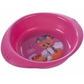 Детская тарелка пластиковая Пираты, розовая, Canpol babies, розовая от Canpol babies
