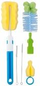 Набор ершиков для мытья бутылочек и сосок Чистюля, голубой, Canpol babies, голубой от Canpol babies