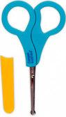 Ножницы безопасные c колпачком, голубые ручки, Canpol babies, голубая ручка от Canpol babies