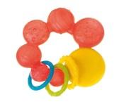 Прорезыватель для зубов красные Пузырьки Canpol babies, красные пузырьки