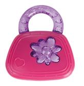 Прорезыватель для зубов Сумочка розовая Canpol babies, розовая