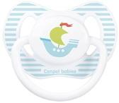 Пустышка Каникулы, силиконовая анатомическая, с корабликом, 6-18 мес, Canpol babies, кораблик от Canpol babies