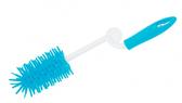 Ершик с изогнутой ручкой для мытья бутылочек, синий, Canpol babies, синий от Canpol babies