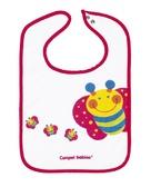Хлопковый слюнявчик Бабочка, Canpol babies, пчелка, красный от Canpol babies