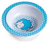 Глубокая тарелка из меламина на присоске с овечкой, Canpol babies, овечка от Canpol babies