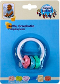 Погремушка Коралики (розовый, зеленый, голубой), Canpol babies, розовый/зеленый/голубой от Canpol babies