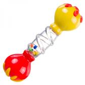 Погремушка Гантель (красно-желтая), Canpol babies, красно-желтая от Canpol babies
