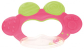 Погремушка-зубогрызка Жабка розовая, Canpol babies, розовая от Canpol babies