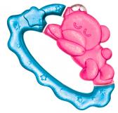 Прорезыватель для зубов Спящий медвежонок (фиолетово-оранжевый) Canpol babies, фиолетово-оранжевый от Canpol babies