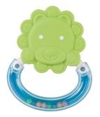 Погремушка-зубогрызка Веселые зверята Львенок, Canpol babies, львенок салатовый от Canpol babies