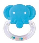 Погремушка-зубогрызка Веселые зверята Слоник, Canpol babies, слон бирюзовый от Canpol babies
