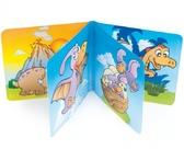 Игрушка-книжка пищалка Динозаврики, Canpol babies, динозаврики от Canpol babies