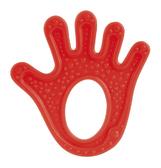 Прорезыватель для зубов эластичный Красная лапка, Canpol babies, красная ладошка от Canpol babies