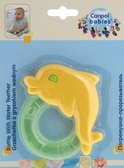 Погремушка-зубогрызка Зверьки (дельфин желтый), Canpol babies, дельфин желтый от Canpol babies