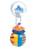 Погремушка Прозрачный шар (дельфин), Canpol babies, дельфин от Canpol babies