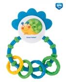 Погремушка-зубогрызка Веселый сад Зеленая улитка, Canpol babies, улитка, зеленая от Canpol babies
