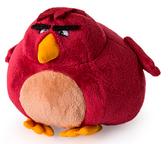 Энгри Бердз: мягкая игрушка Теренс (13 см), Angry Birds, Теренс (темно-красный)