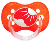 Пустышка Nature силиконовая круглая, красная, 0-6 мес, Canpol babies, красная от Canpol babies