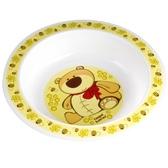 Тарелка пластиковая глубокая Smile с мишкой, Canpol babies, мишка от Canpol babies