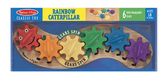 Шестеренки Гусеница Caterpillar Gear Toy, Melissa & Doug от Melissa & Doug