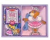 Шнуровка Одень медведя Lacing Bear Dress-Up, Melissa & Doug от Melissa & Doug
