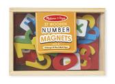 Деревянные цифры с магнитами Magnetic Wooden Numbers, Melissa & Doug