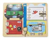 Деревянная доска Locks Board, Melissa & Doug