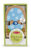 Деревянная игрушка Рождение птенчиков Slide & Sleek Egg Toddler Toy, Melissa & Doug