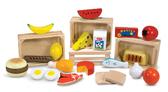 Деревянный набор продуктов Food Groups, Melissa & Doug от Melissa & Doug