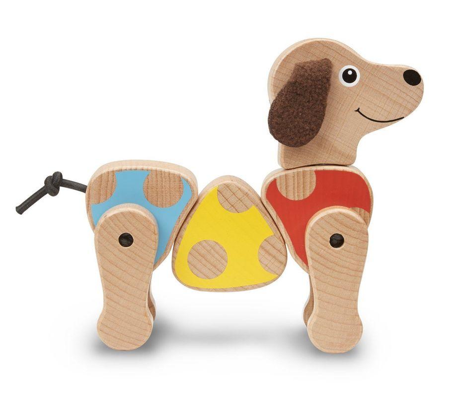 Деревянный манипулятор Щенок Puppy Grasping Toy, Melissa & Doug