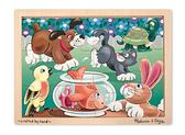 Домашние животные - пазл начального уровня Playful Pets Jigsaw, Melissa & Doug
