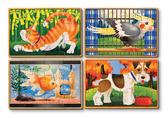 Домашние животные - набор из 4 пазлов Pets, Melissa & Doug