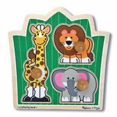 Друзья из джунглей - формовой пазл Jungle Friends, Melissa & Doug