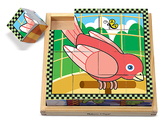 Кубики Домашние животные Pets Cube Puzzle, Melissa & Doug