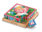 Кубики Принцессы и феи Princess & Fairy Cube Puzzle, Melissa & Doug