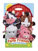 Кукольный театр Животные фермы Farm Hands Animal Puppets, Melissa & Doug
