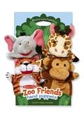 Кукольный театр Зоопарк Safari Sidekicks Hand Puppets, Melissa & Doug
