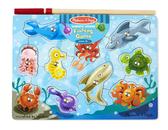 Магнитный пазл Рыбалка Fishing Magnetic Puzzle Game, Melissa & Doug