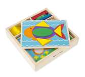 Набор Первая мозаика Beginner Pattern Blocks. Melissa & Doug