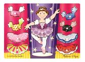 Деревянная рамка-вкладыш Одень балерину Dress-Up Mix n Match. Melissa & Doug