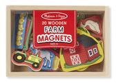 Набор фигурок с магнитами Ферма Wooden Farm Magnets. Melissa & Doug