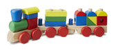 Поезд из кубиков Stacking Train, Melissa & Doug